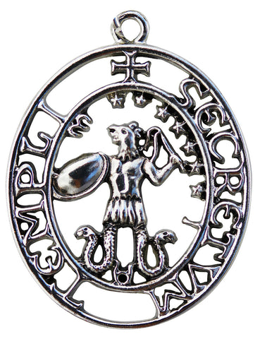 KT13 - Sigil of Abraxas for Magickal Right and Might (Knights Templar) at Enchanted Jewelry & Gifts