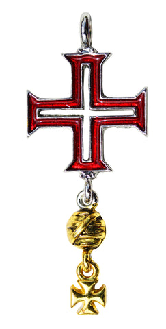 KT16 - Tomar Cross for Protection on Life's Journey (Knights Templar) at Enchanted Jewelry & Gifts