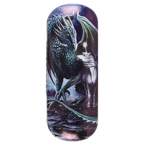 Protector of Magick (Dragon & Unicorn) Eyeglass Case by Lisa Parker