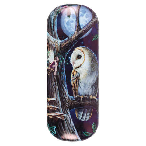 LP470G-Fairy Tales (Barn Owl) Eyeglass Case by Lisa Parker Eyeglass Cases at Enchanted Jewelry & Gifts