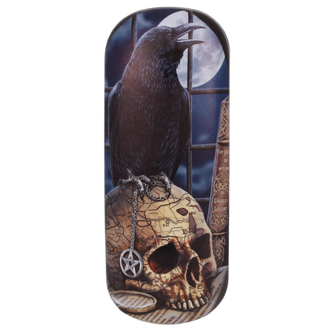 LP126G - Salem (Raven) EyeGlass Case by Lisa Parker (Eye Glass Cases) at Enchanted Jewelry & Gifts