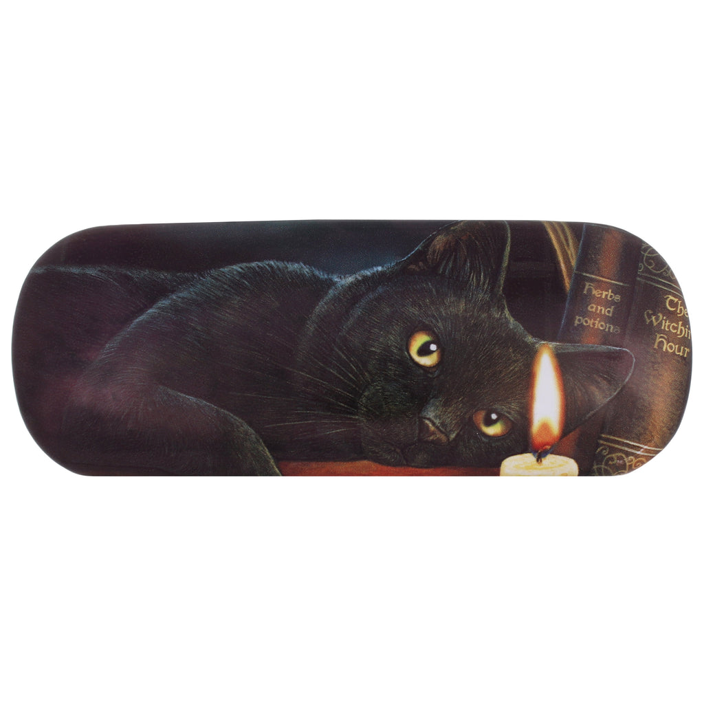 LP127G-Witching Hour (Black Cat) EyeGlass Case by Lisa Parker Eyeglass Cases at Enchanted Jewelry & Gifts