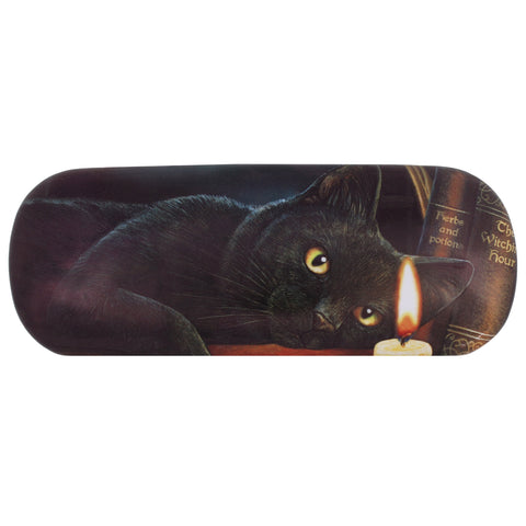 LP127G - Witching Hour (Black Cat) EyeGlass Case by Lisa Parker (Lisa Parker Eyeglass Cases) at Enchanted Jewelry & Gifts