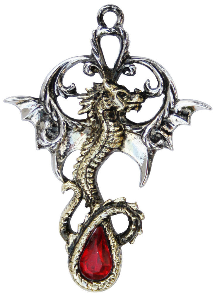 LT02 - King Alfred's Dragon for Nobility and Wisdom (Lost Treasures of Albion) at Enchanted Jewelry & Gifts