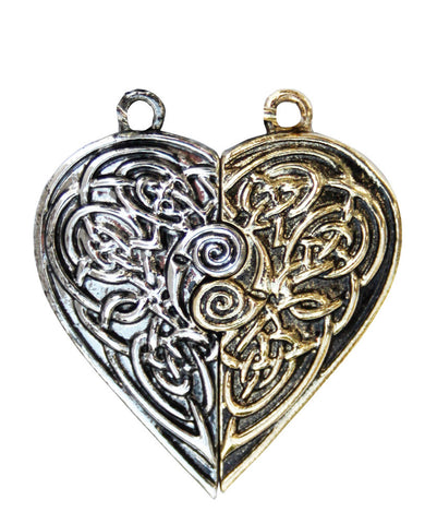 (Product Code: LT13) Tristan & Iseult Love Token Pair for Love & Friendship, Lost Treasures of Albion - EnchantedJewelry