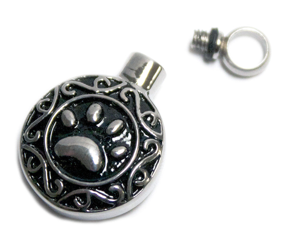LV15-Celtic Paw Keepsake Love Vial (Love Vials) at Enchanted Jewelry & Gifts