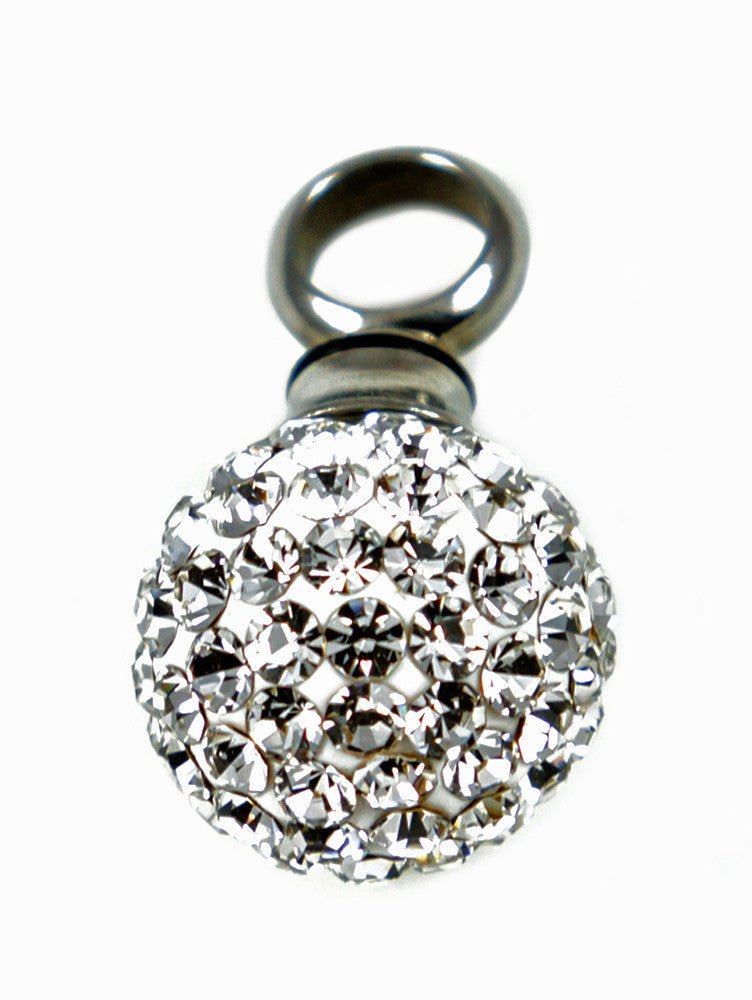LV21 - Rhinestone Ball Keepsake Love Vial (Love Vials) at Enchanted Jewelry & Gifts