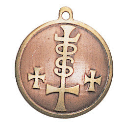 (Product Code: MA08) Charm for Strength, Power, & Riches, Mediaeval Fortune Charms - EnchantedJewelry