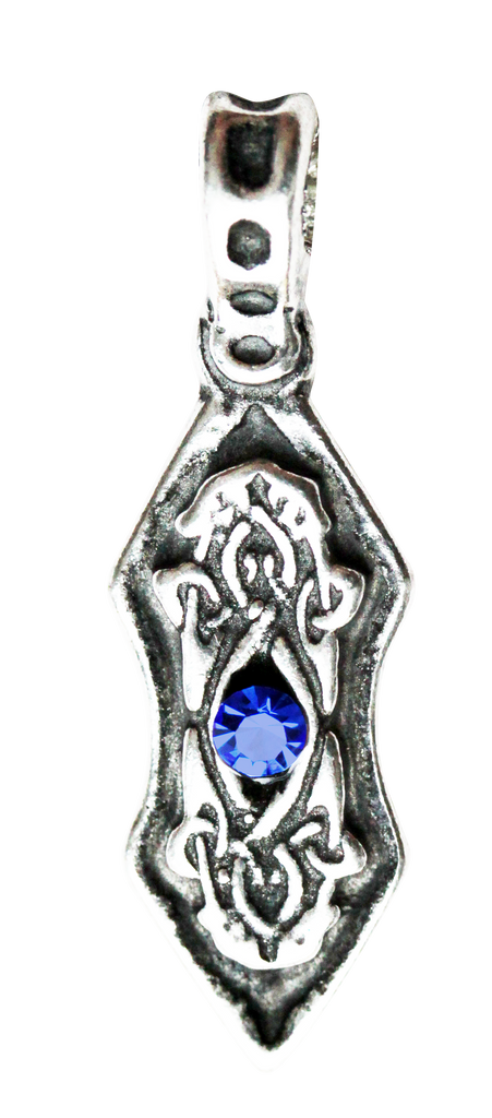 NLMA09-Eye of the Ice Dragon Pendant for Harmony & Stability (Nordic Lights) at Enchanted Jewelry & Gifts
