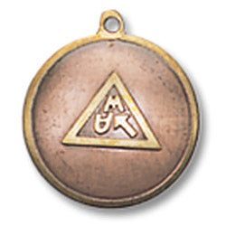MA38 - Charm for Happy Events and Work Success (Mediaeval Fortune Charms) at Enchanted Jewelry & Gifts