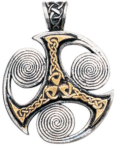 (Product Code: NLMC04) Triskilian Pendant for Progress  , Nordic Lights - EnchantedJewelry