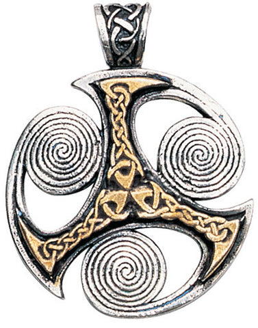 NLMC04-Triskilian Pendant for Progress (Nordic Lights) at Enchanted Jewelry & Gifts
