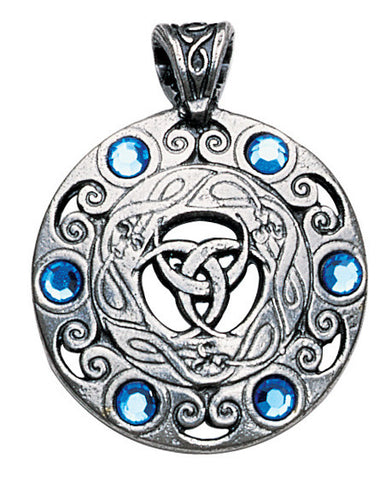 NLMD11 - Jewels of the Moon Pendant for Clairvoyance and Psychic Ability (Nordic Lights) at Enchanted Jewelry & Gifts