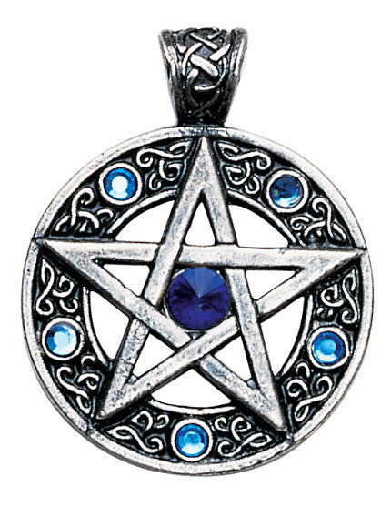 NLMD13-Celtic Pentagram for Willpower and Success (Nordic Lights) at Enchanted Jewelry & Gifts