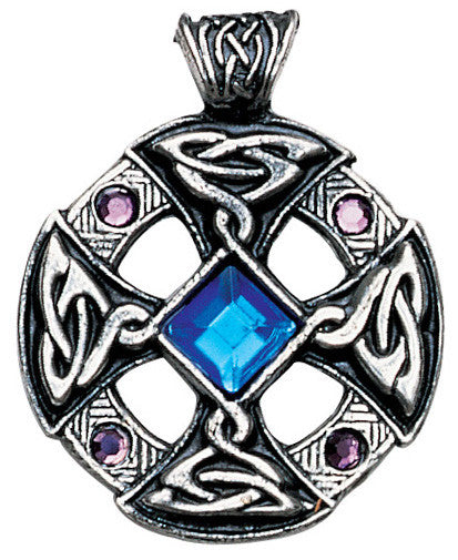 NLMD18-Celtic Cross Pendant for Inspiration and Intuition  -Nordic Lights-Enchanted Jewelry & Gifts