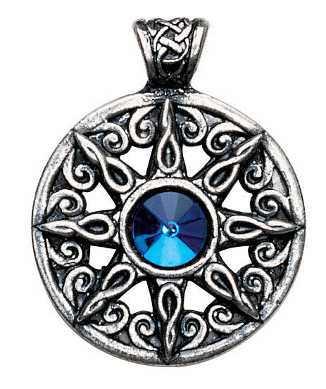 NLMD21-Ring of the Heavens Pendant for Leadership and Advancement (Nordic Lights) at Enchanted Jewelry & Gifts