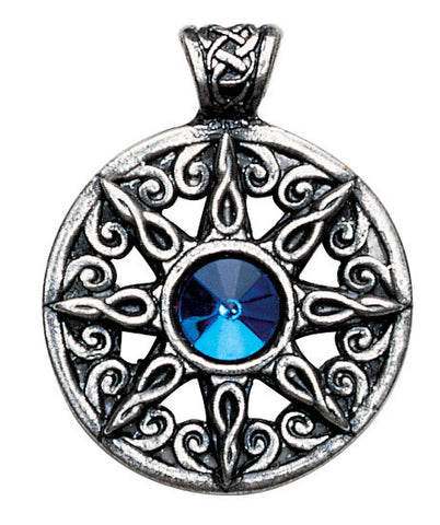 NLMD21 - Ring of the Heavens Pendant for Leadership and Advancement (Nordic Lights) at Enchanted Jewelry & Gifts