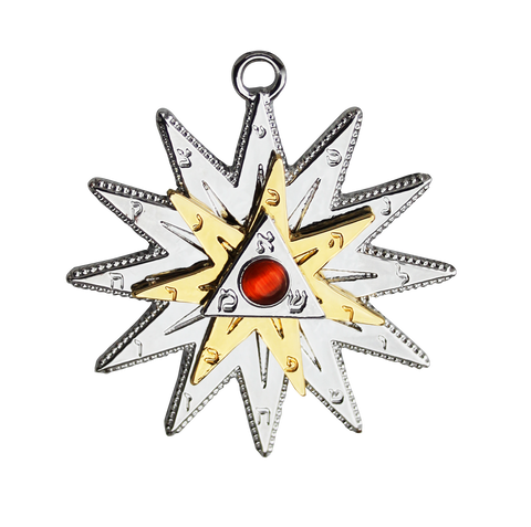 (Product Code: MK3) Kabbalah Star - Positive Energy & Protection - EnchantedJewelry
