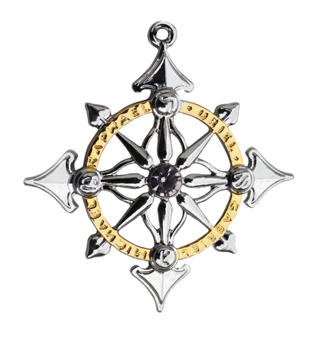 (Product Code: MK5) Archangel Compass - Harmony in People & Places - EnchantedJewelry