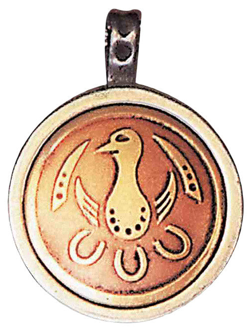 MT4-Tsuru Talisman for Justic & Longevity-Magical Talismans-Enchanted Jewelry & Gifts