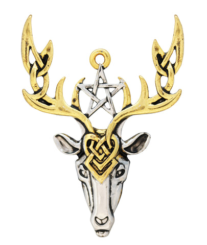 MY2 - Beltane Stag for Fertile Energy (Mythic Celts) at Enchanted Jewelry & Gifts