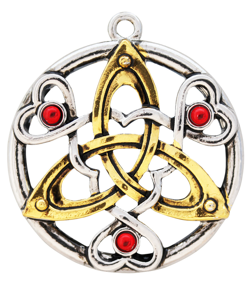 MY5-Charm Of Cu Chulainn for Fierce Determination (Mythic Celts) at Enchanted Jewelry & Gifts