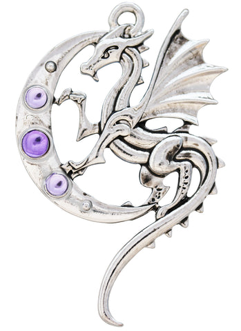 (Product Code: MY6) Luna Dragon for Strength on Life's Journey, Mythic Celts - EnchantedJewelry