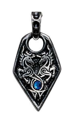 NLMA14 - Sea Unicorn Pendant for Love & Courage (Nordic Lights) at Enchanted Jewelry & Gifts