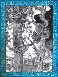 (Product Code: rNS03) The Dryad's Song, Nic Shaw Fantasy Cards - EnchantedJewelry
