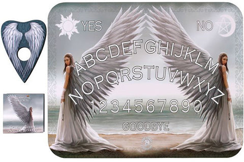 (Product Code: OB390AS) Spirit Guide Angel Board by Anne Stokes, Anne Stokes Spirit Ouija Boards - EnchantedJewelry - 1