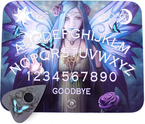 (Product Code: OB412AS) Mystic Aura Spirit Board by Anne Stokes, Anne Stokes Spirit Ouija Boards - EnchantedJewelry