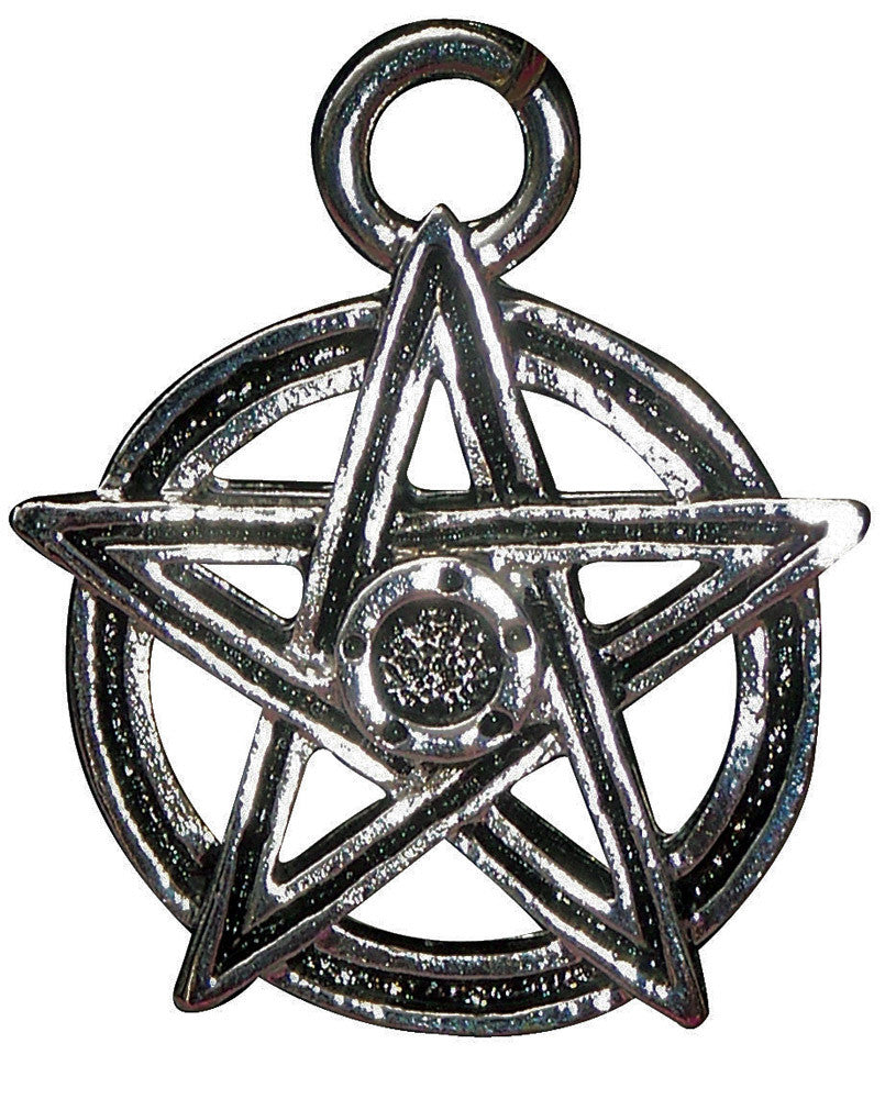 P12 - Pentagram Power Pendant for Fufilment of Desires (Power Pendants) at Enchanted Jewelry & Gifts