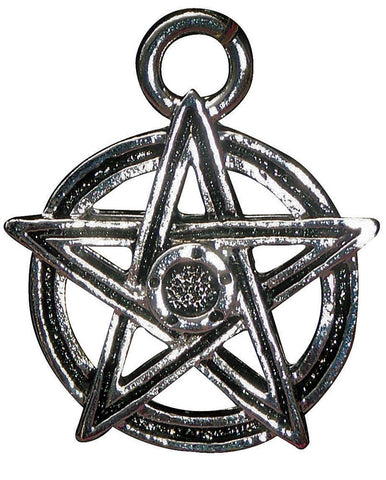 P12-Pentagram Power Pendant for Fufilment of Desires (Power Pendants) at Enchanted Jewelry & Gifts