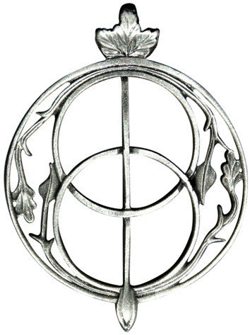 P378 - Chalice Well for Intuition Ancient Celtic Symbol Magic at Enchanted Jewelry & Gifts