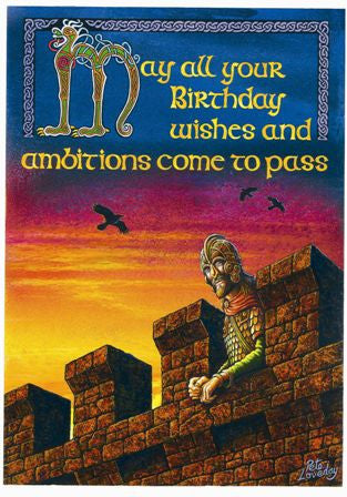 (Product Code: rPL06) Birthday Ambitions Card, Pete Loveday Cards - EnchantedJewelry