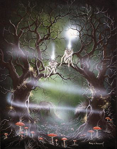 rPP03-Tree Spirits Card-Peter Pracownik Cards-Enchanted Jewelry & Gifts