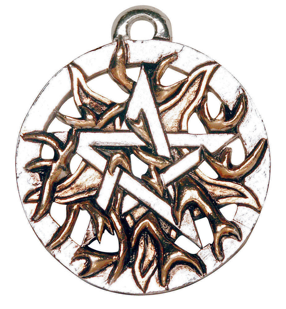 PR9 - Fire Pentagram (Magical Pentagrams) at Enchanted Jewelry & Gifts