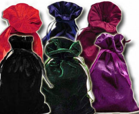 PV13 - Assorted Velvet Pouch Velvet Bags at Enchanted Jewelry & Gifts