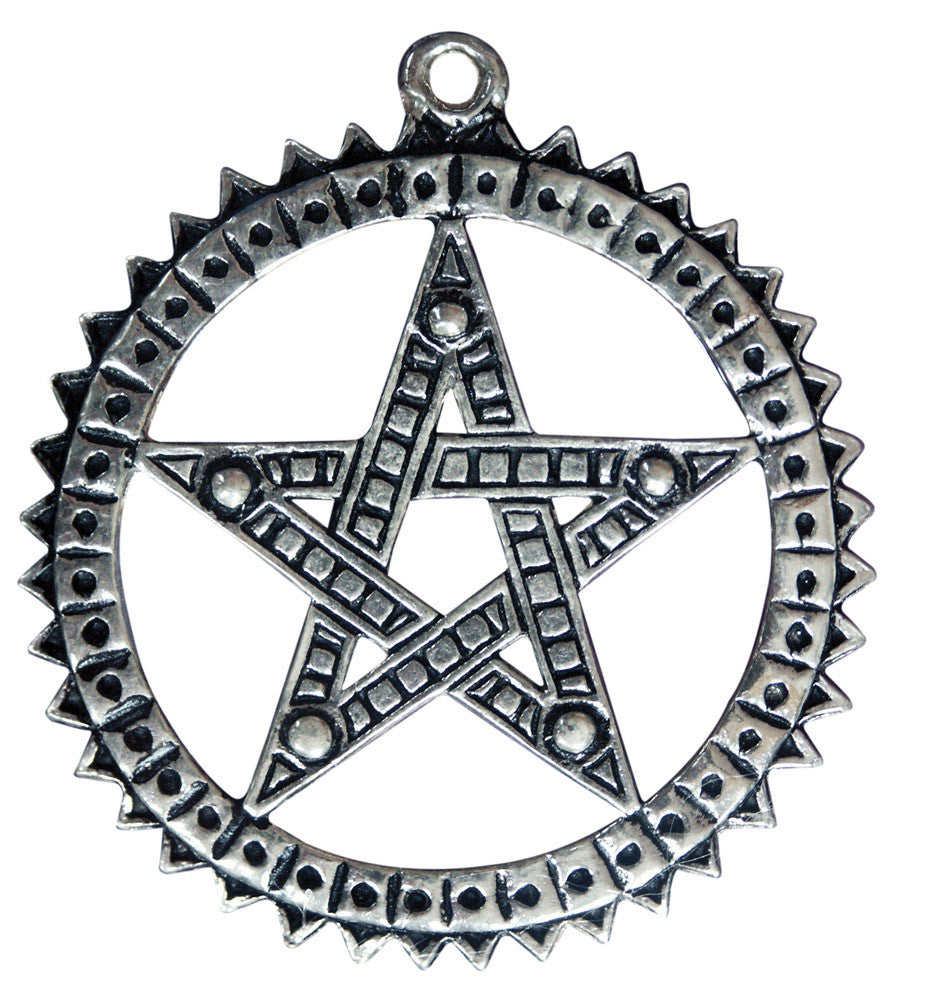 SC15 - Pagani Pentagram for Increasing Psychic Ability (Sigils of the Craft) at Enchanted Jewelry & Gifts