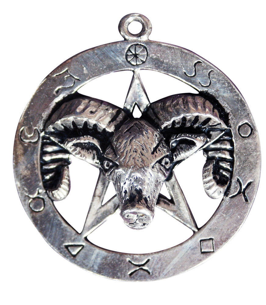 (Product Code: SC17) Ram Pentagram for Connection with the Life Force, Sigils of the Craft - EnchantedJewelry