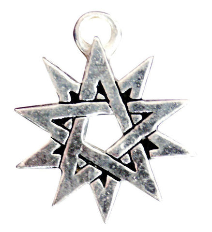 SC18 - Double Pentagram for Powers of the Light (Sigils of the Craft) at Enchanted Jewelry & Gifts