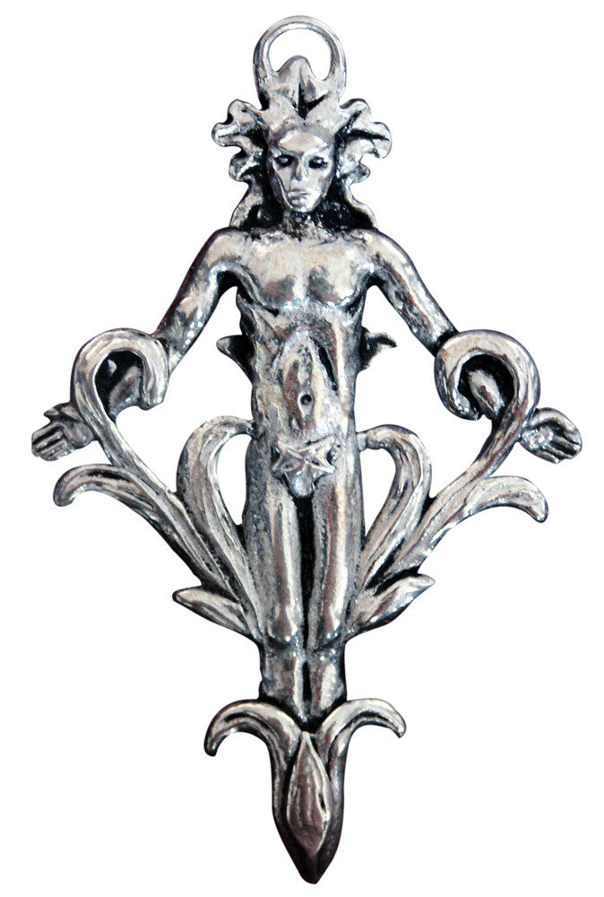 SC1 - Mandrake Pendant for Power & Attraction (Sigils of the Craft) at Enchanted Jewelry & Gifts