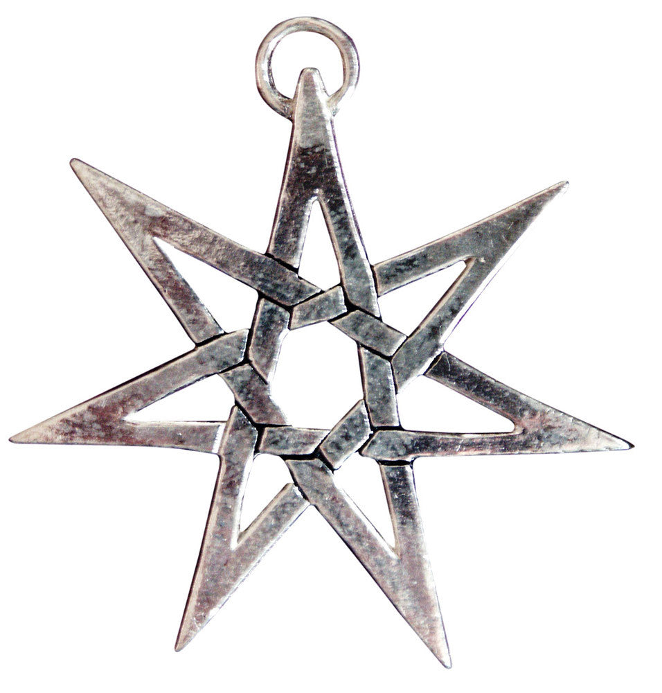 (Product Code: SC4) Heptagram for Protection from Hidden Danger, Sigils of the Craft - EnchantedJewelry