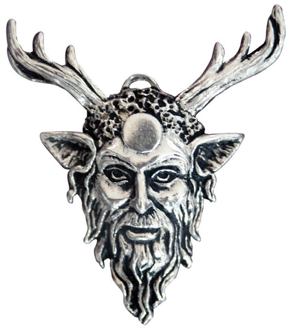 (Product Code: SC5) Cernunnos Pendant for Strength & Empowerment, Sigils of the Craft - EnchantedJewelry
