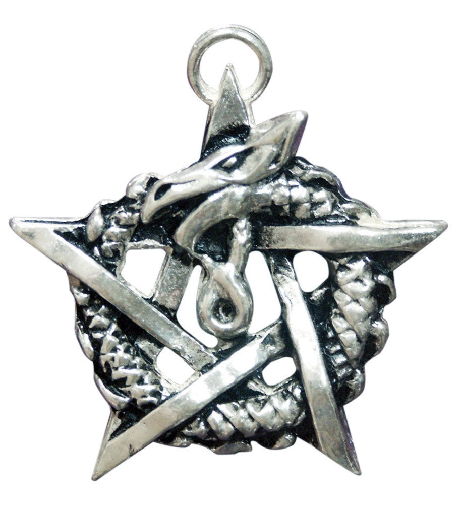 SC8-Ouroborous Pendant for Healing & Regeneration-Sigils of the Craft-Enchanted Jewelry & Gifts