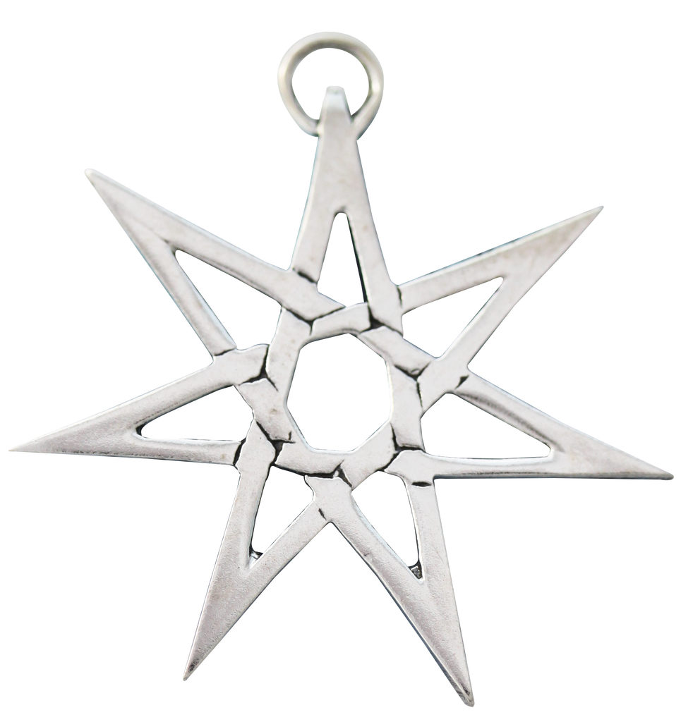 SCP03-Heptagram for Protection from Hidden Danger (Sigils of the Craft) at Enchanted Jewelry & Gifts