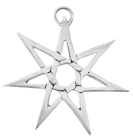 SCP03 - Heptagram for Protection from Hidden Danger (Sigils of the Craft) at Enchanted Jewelry & Gifts