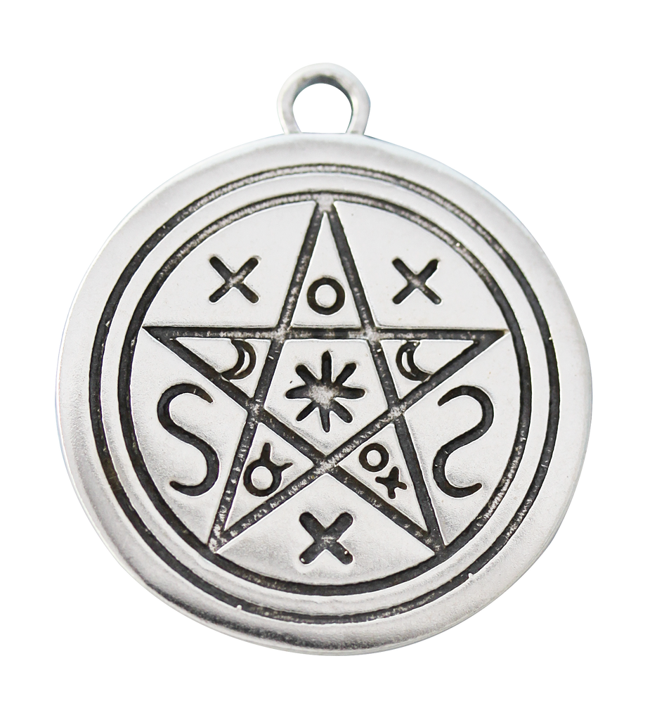 SCP10-Pentacle of Shadows for Contact with Earth & Spirit (Sigils of the Craft) at Enchanted Jewelry & Gifts