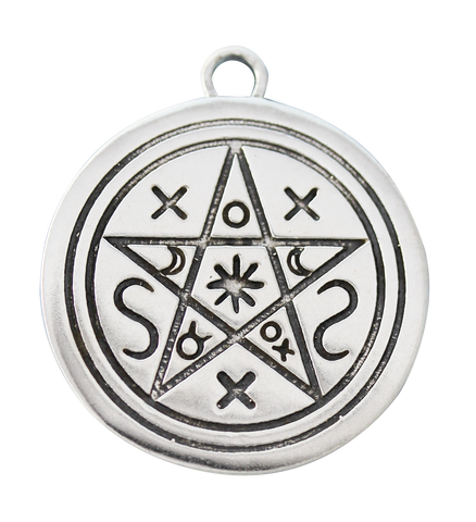 SCP10 - Pentacle of Shadows for Contact with Earth & Spirit (Sigils of the Craft) at Enchanted Jewelry & Gifts