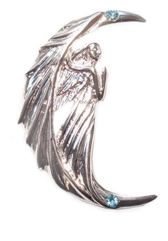 (Product Code: SN06) Naysa Neona Night Angel by Anne Stokes for Making a Fresh Start, Supernaturelles - EnchantedJewelry